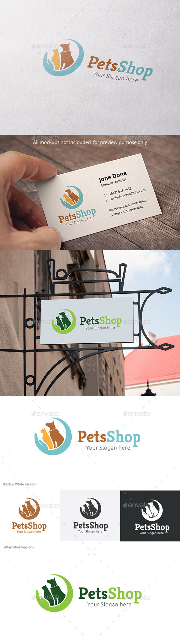 GraphicRiver Pets Shop 11319612