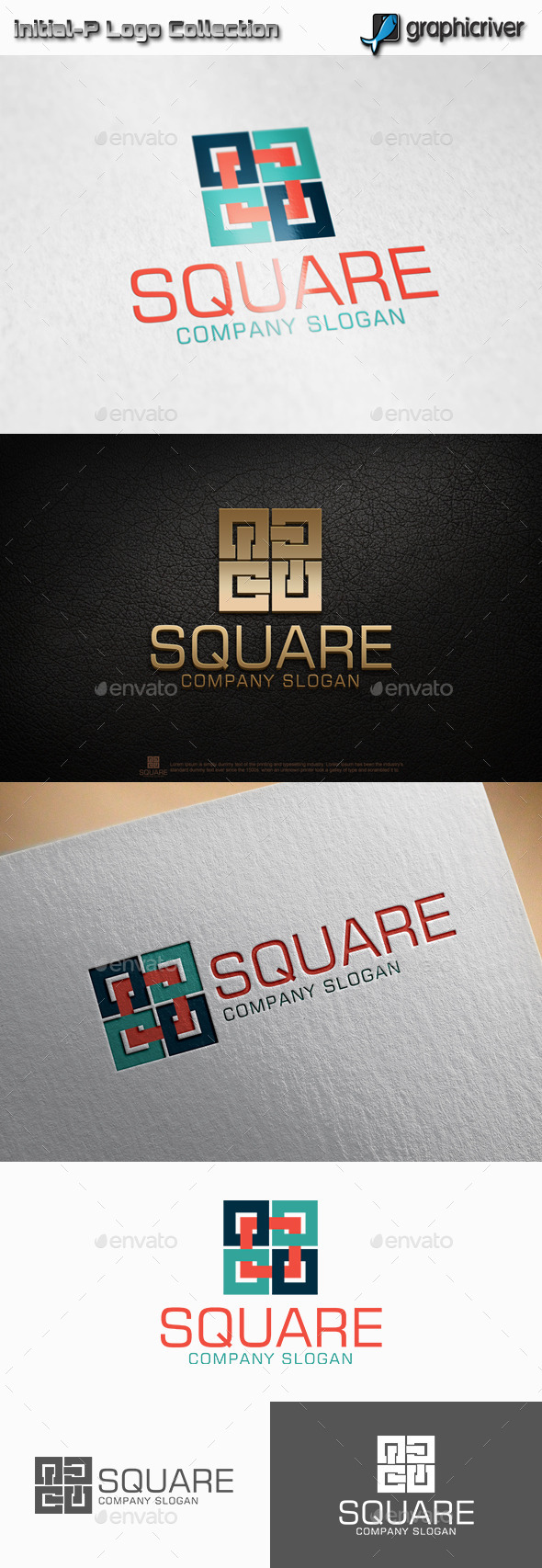GraphicRiver Square Logo 11319996