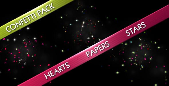 Confetti Explode Pack