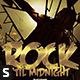 Rock Until Midnight Flyer - GraphicRiver Item for Sale