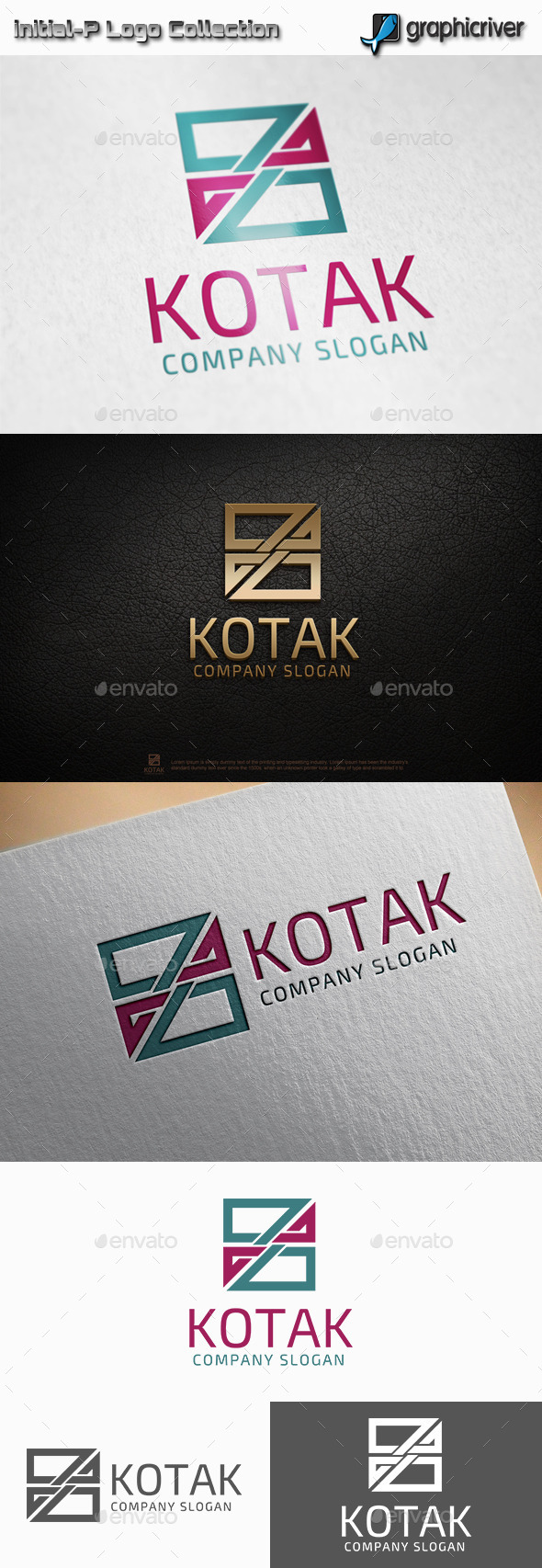 GraphicRiver Kotak Square logo 11320090
