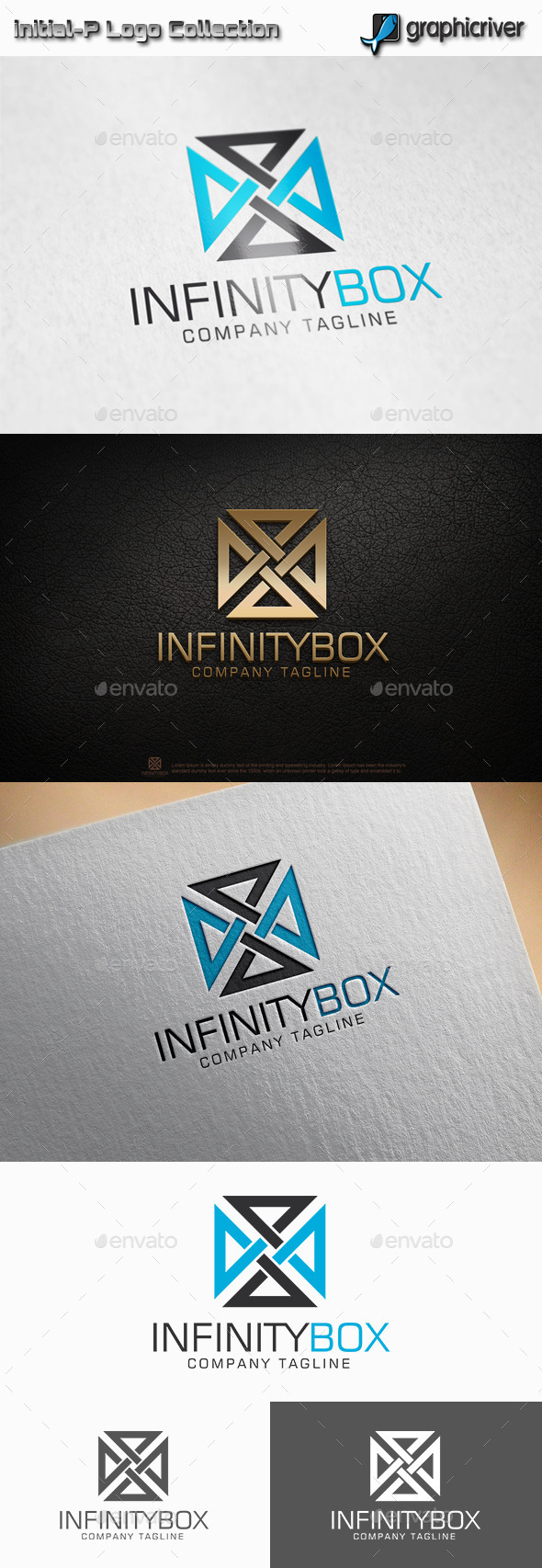 GraphicRiver Infinity Box Square Logo 11320296