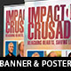 Gospel Crusade Banner and Poster Template - GraphicRiver Item for Sale