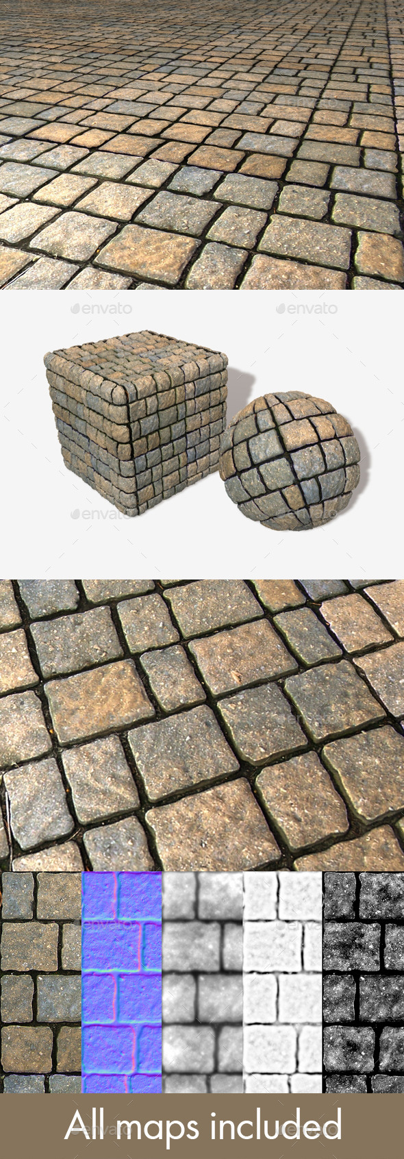 3DOcean Floor Bricks Seamless Texture 11322269