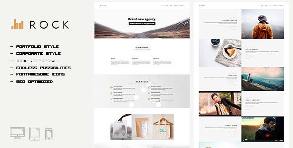 ROCKFOLIO - Portfolio & Agency HTML Template