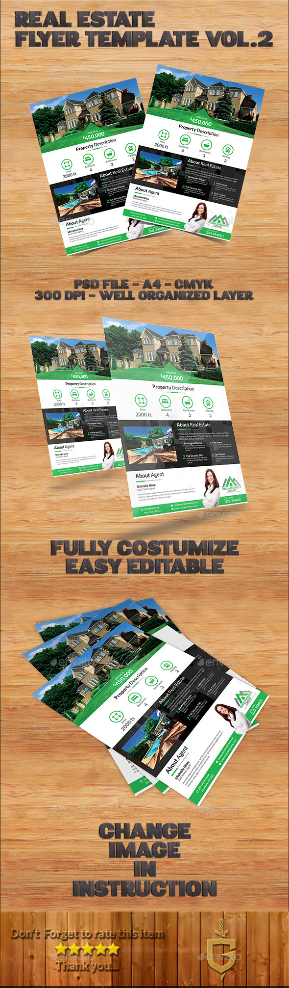 GraphicRiver Real Estate Flyer Template Vol.2 11322341