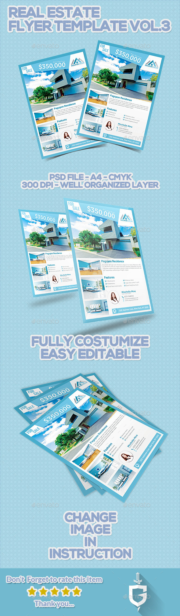 GraphicRiver Real Estate Flyer Template Vol.3 11322347