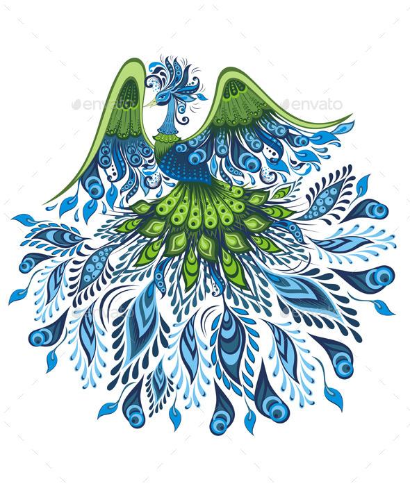 GraphicRiver Bird Symbol 11322366