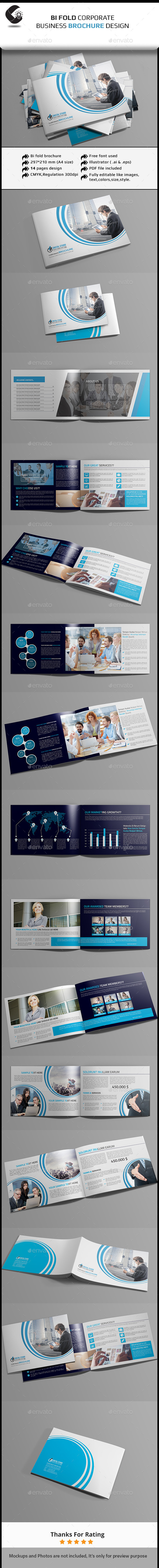 GraphicRiver Bi-Fold Business Brochure 11322454