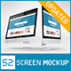 52 Responsive Screen Mockup - GraphicRiver Item for Sale