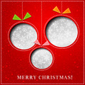 Merry Christmas Paper greeting card - PhotoDune Item for Sale