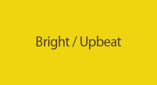 Bright - Upbeat