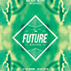 Strange Future | Abstract Minimal Flyer Template - GraphicRiver Item for Sale