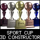 Sport Cup 3D constructor - GraphicRiver Item for Sale