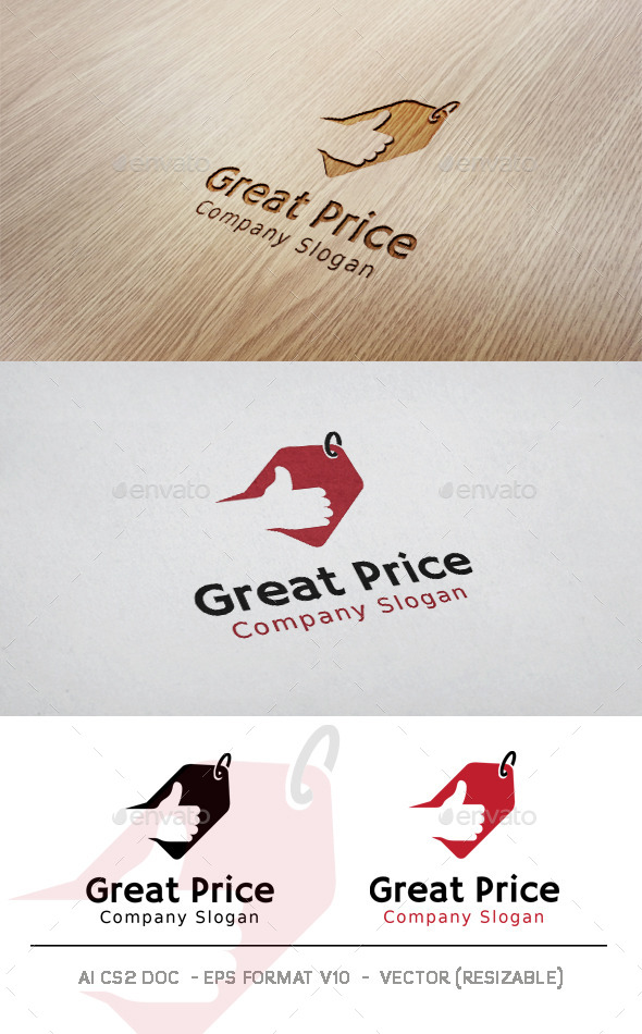 GraphicRiver Great Price Logo 11323417