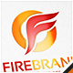 Fire Brand Letter F Logo - GraphicRiver Item for Sale