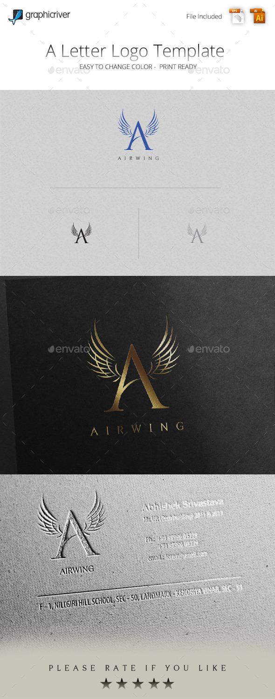 GraphicRiver A Letter Logo 11323688