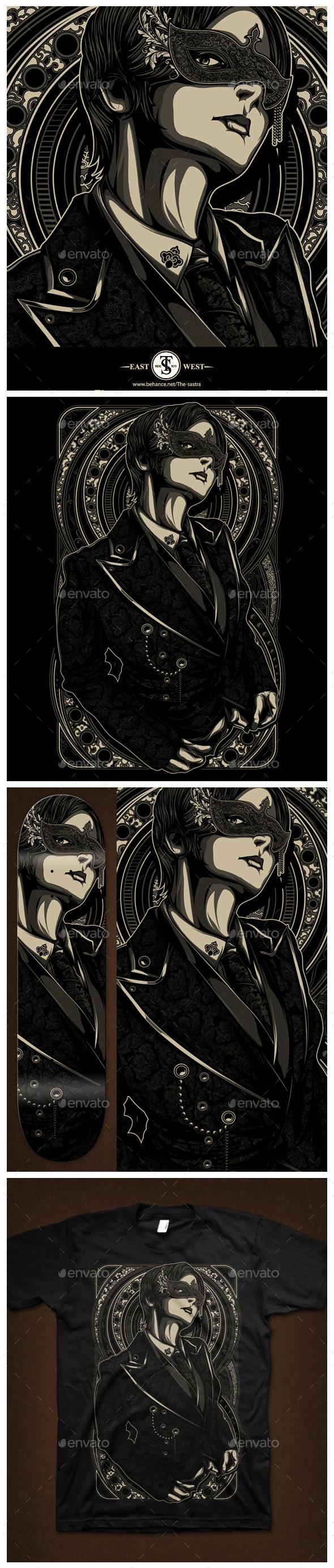 GraphicRiver Masked Man 11323988
