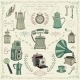 Vintage Colorful Icons - GraphicRiver Item for Sale