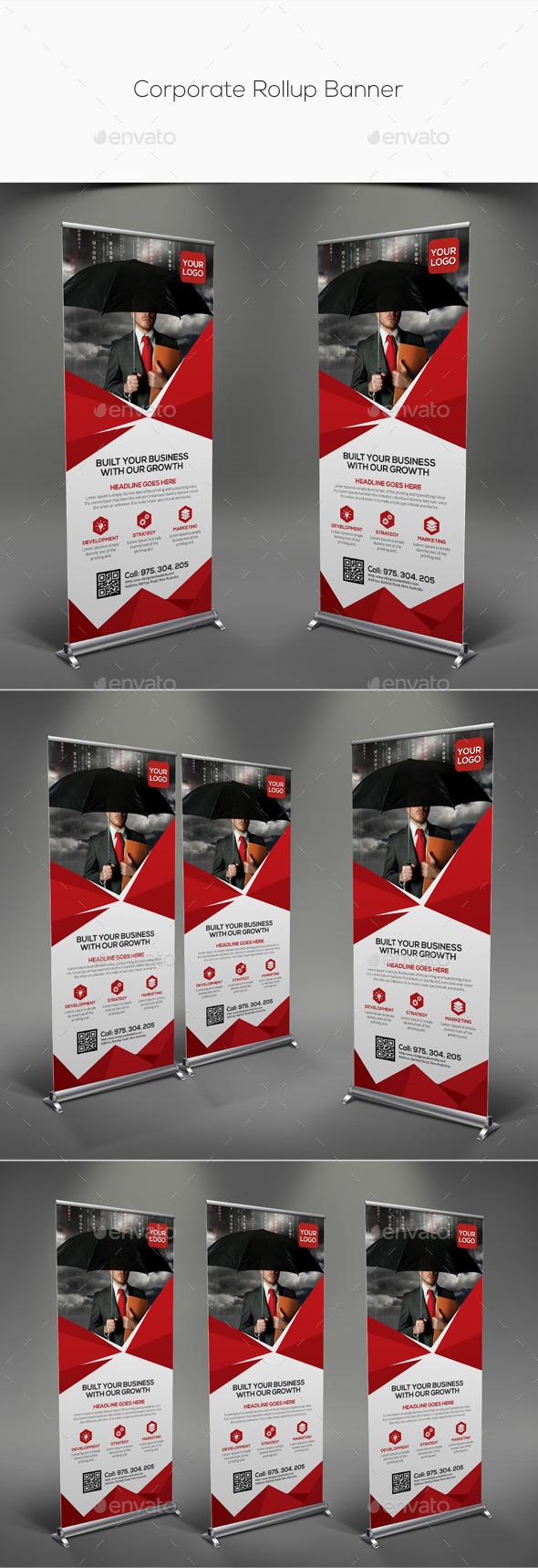 GraphicRiver Corporate Rollup Banner 11324232