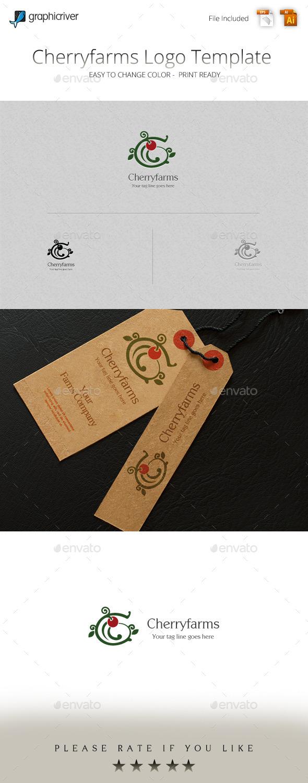 GraphicRiver Cherryfarms Logo Template 11324243