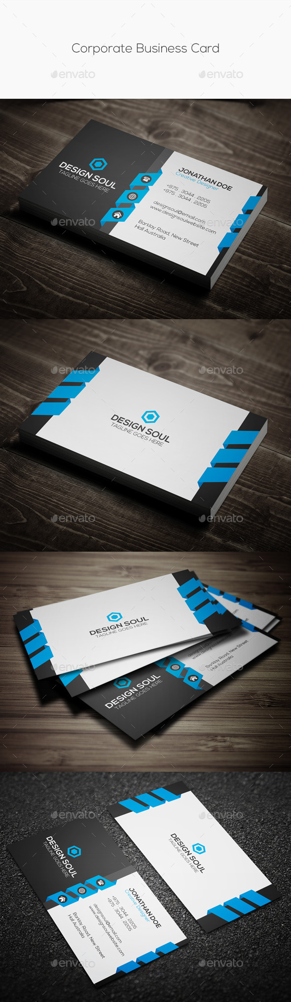 GraphicRiver Corporate Business Card 11324454