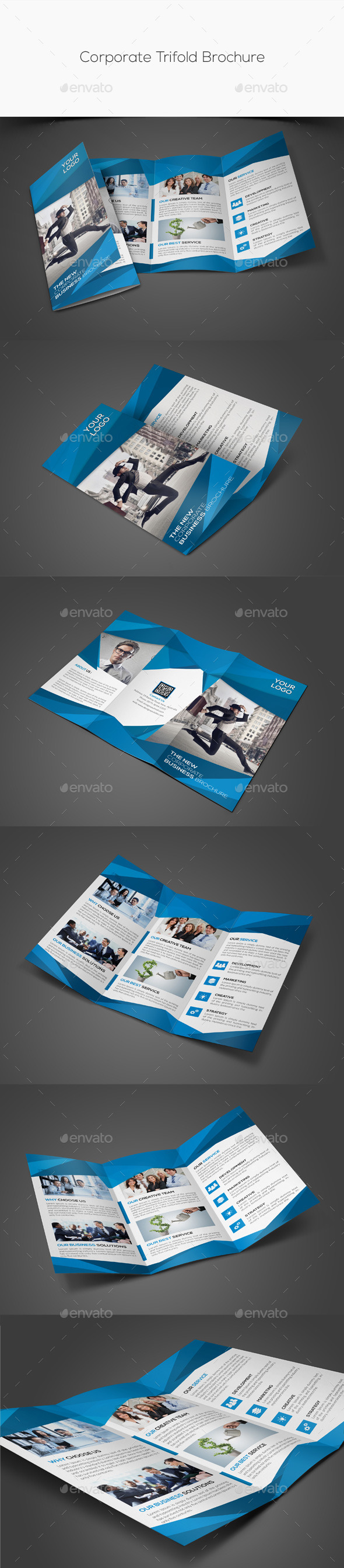 GraphicRiver Corporate Trifold Brochure 11324531
