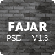 Fajar - Multipurpose PSD Template - ThemeForest Item for Sale
