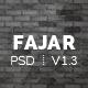Fajar - Multipurpose PSD Template - ThemeForest Item for Sale