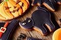 Halloween homemade gingerbread cookies - PhotoDune Item for Sale