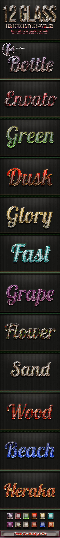 GraphicRiver 12 Premium Glass Style Vol 2 11325914