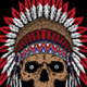 Native American Skull - GraphicRiver Item for Sale