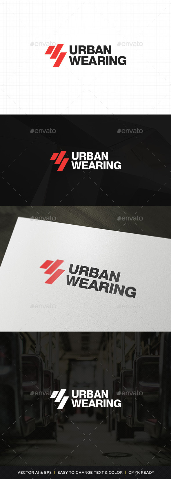 GraphicRiver Urban Wearing Logo 11326723