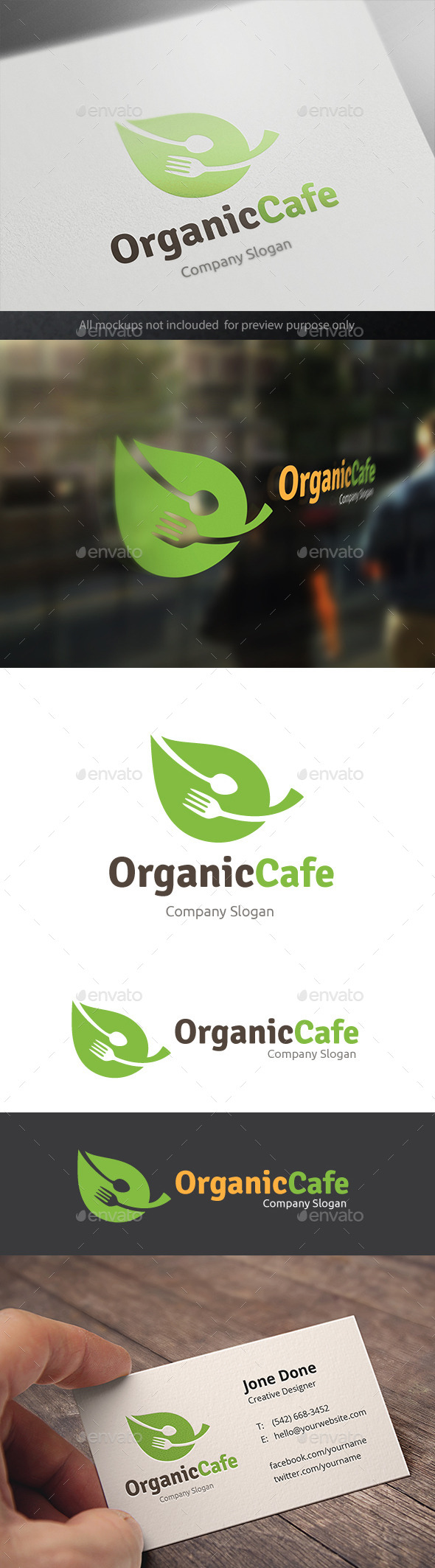GraphicRiver Organic Cafe 11326929