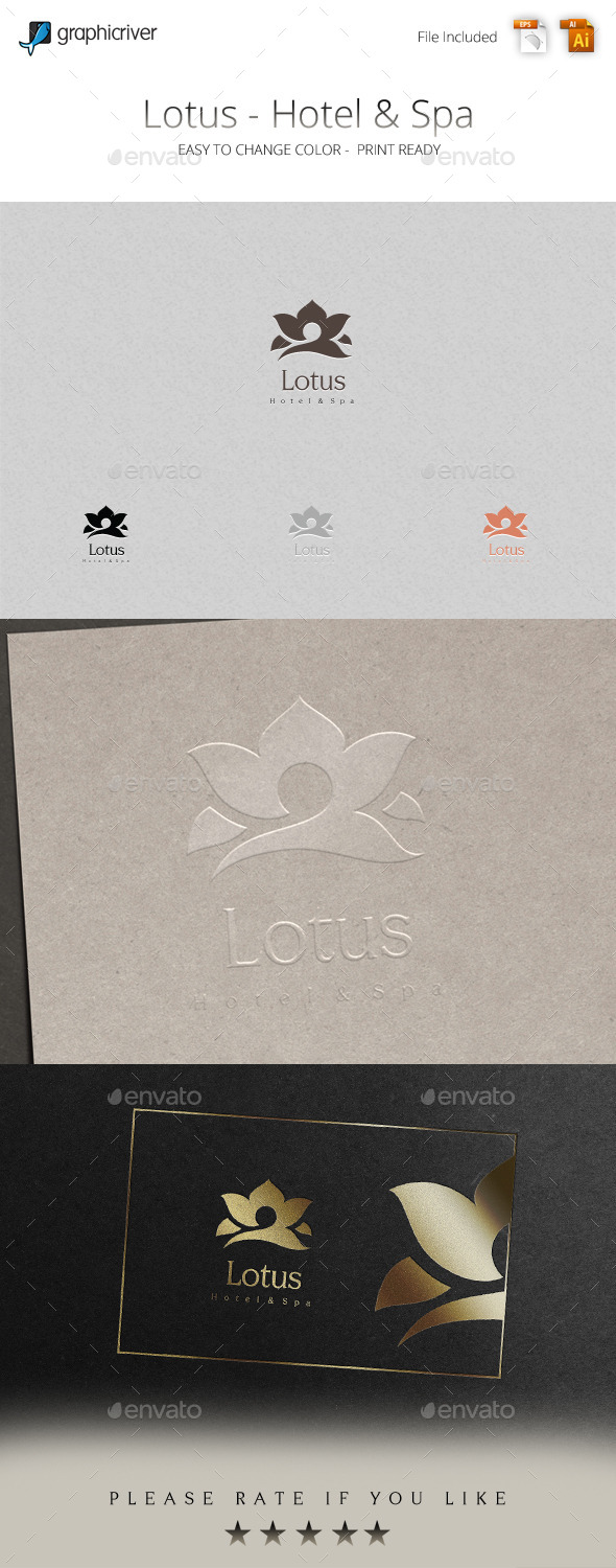 GraphicRiver Lotus Logo 11326930
