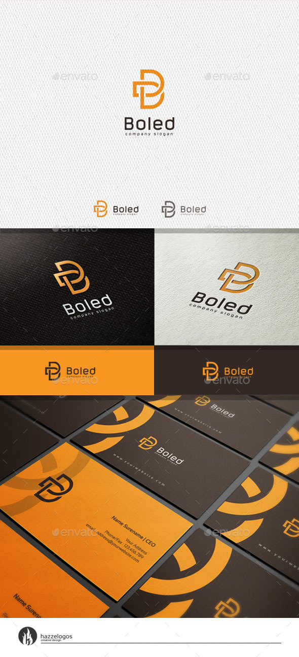 GraphicRiver Boled Logo 11327159