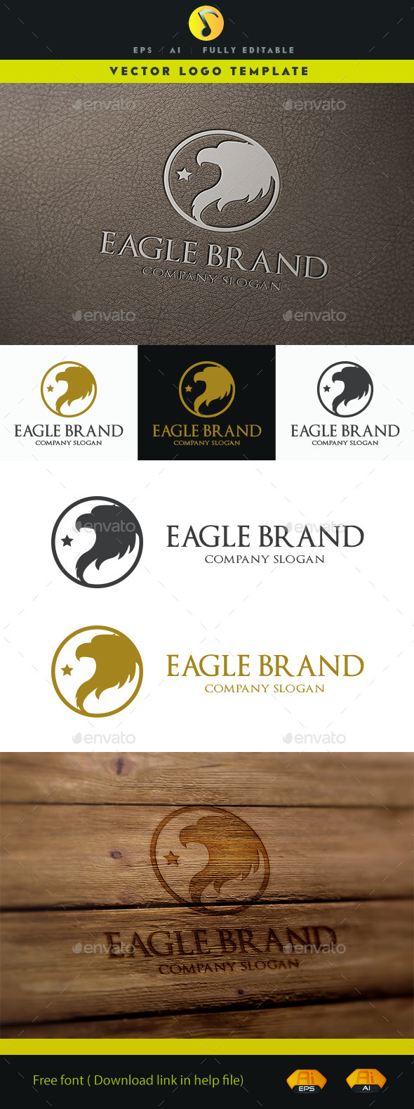 GraphicRiver Eagle Brand V.2 11327512
