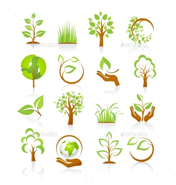 GraphicRiver Set Of Nature Icons 11327882