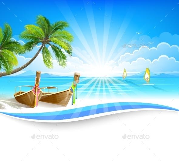 GraphicRiver Paradise Island 11327895