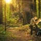 Forest Hiking Man with Map - PhotoDune Item for Sale