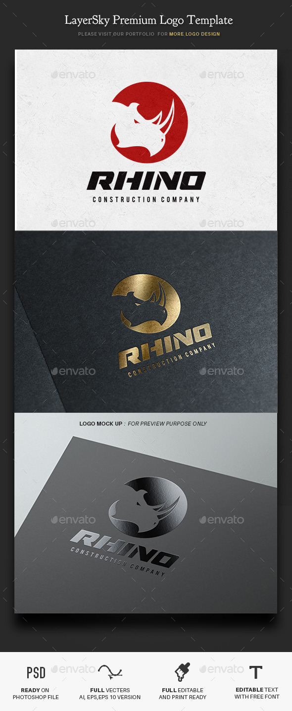 GraphicRiver Rhino 11328614