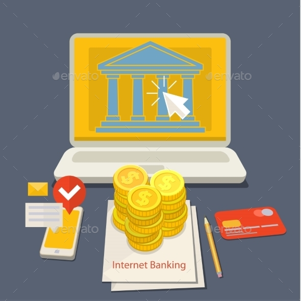 GraphicRiver Internet Banking 11328693