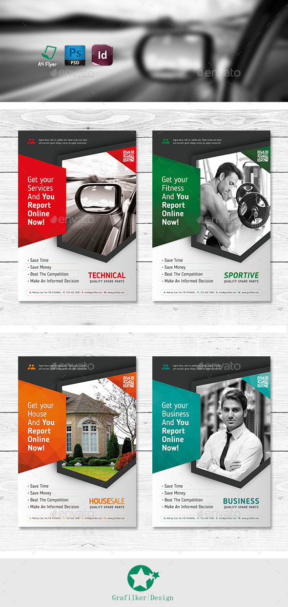 GraphicRiver Multipurpose Flyer Templates 11328738