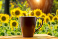 morning coffee on the wood. - PhotoDune Item for Sale