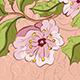 Colored Sketch of Sakura Branch - GraphicRiver Item for Sale