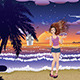 Fashion Girl on the Beach - GraphicRiver Item for Sale