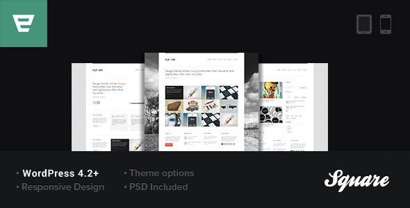 Square - Responsive WordPress Theme - Portfolio Creative