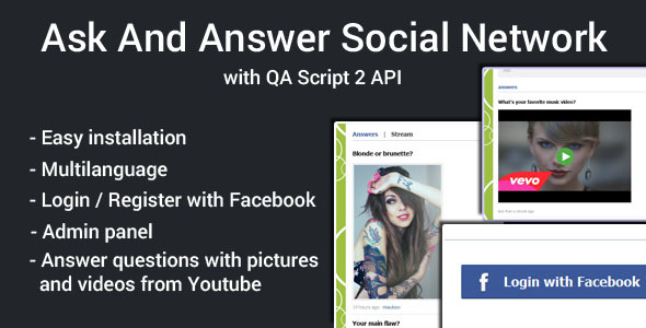 CodeCanyon Ask and Answer Social Network 11300829