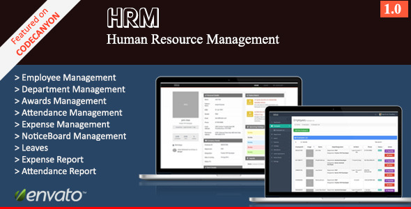 CodeCanyon HRM Human Resource Management 11309213