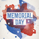 Memorial/Independence Day Flyer Template - GraphicRiver Item for Sale